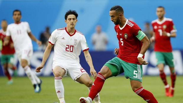 maroc portugal 2ème journée du groupe b