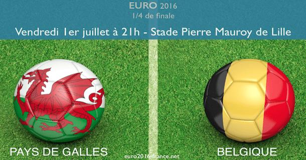 pronostic Pays de Galles-Belgique