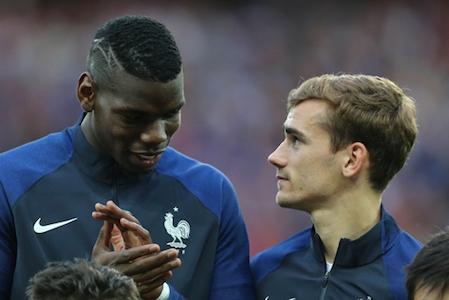 Pogba et Griezmann ont été très important pour la France contre l'Irlande