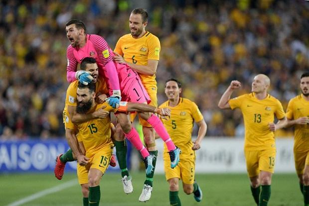 Qualification de l'Australie au Mondial 2018