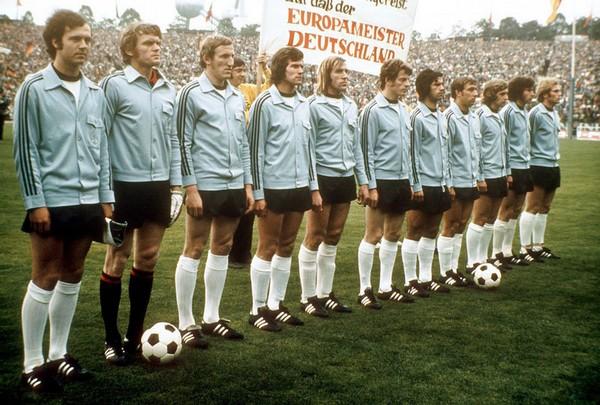 allemagne de l'ouest euro 1972