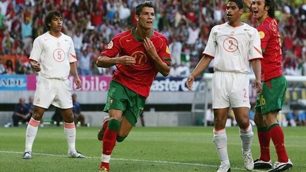 cristiano ronaldo portugal euro foot
