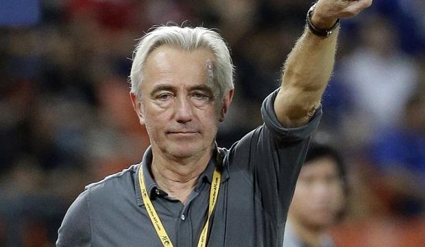 Le nouveau sélectionneur de l'Australie Bert van Marwijk