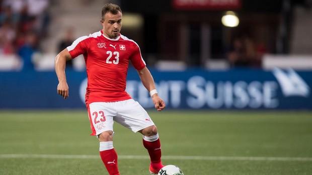 la Suisse de Shaquiri outsider contre le Brésil