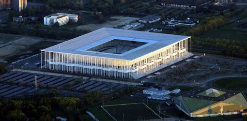 la nouvelle enceinte Matmut atlantique de Bordeaux