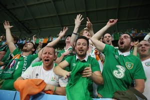 supporters irlande fête euro 2016