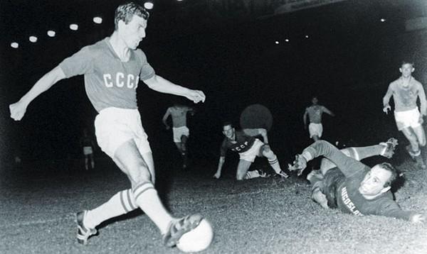 Finale de l'Euro 1960 URSS contre Yougoslavie