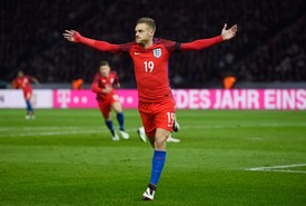 James Vardy angleterre attaquant euro