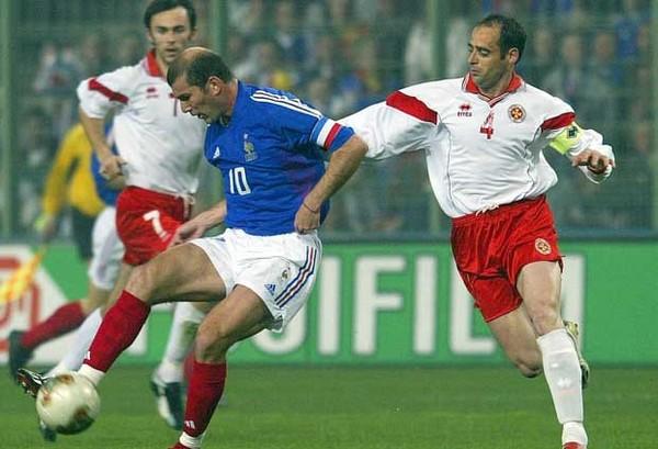 zidane équipe de france euro 2004